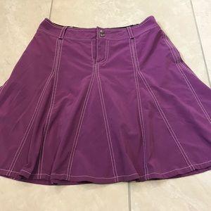 Athleta pre-owned purple skort size 8